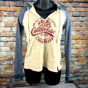 Cali love heritage pacific merchants hoodie sz Med
